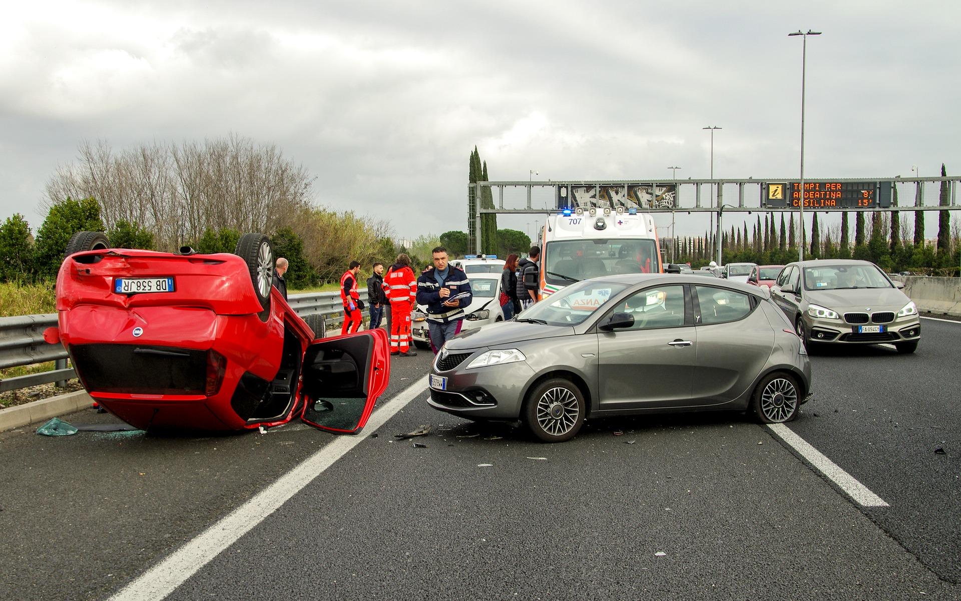 מה עושים במקרה של תאונה עם רכב שכור